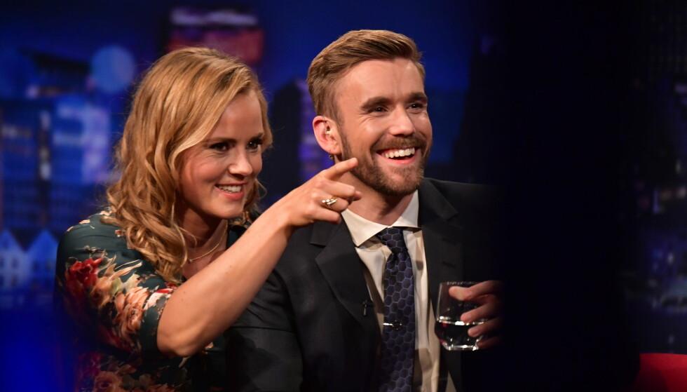 DEBUTERER: Fredag sendes den første episoden av nyinnspillingen av «Senkveld», med Helene Olafsen og Stian Blipp som programledere. Foto: Lars Eivind Bones / Dagbladet