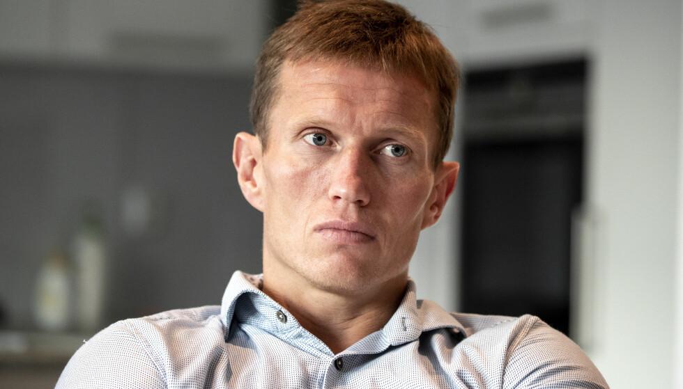 DAGEN DERPÅ: Frank Løke legger ikke skjul på at han er bitter over TV 2s avgjørelse. Samtidig tar 38-åringen selvkritikk på visse punkter. Foto: Andreas Fadum / Se og Hør