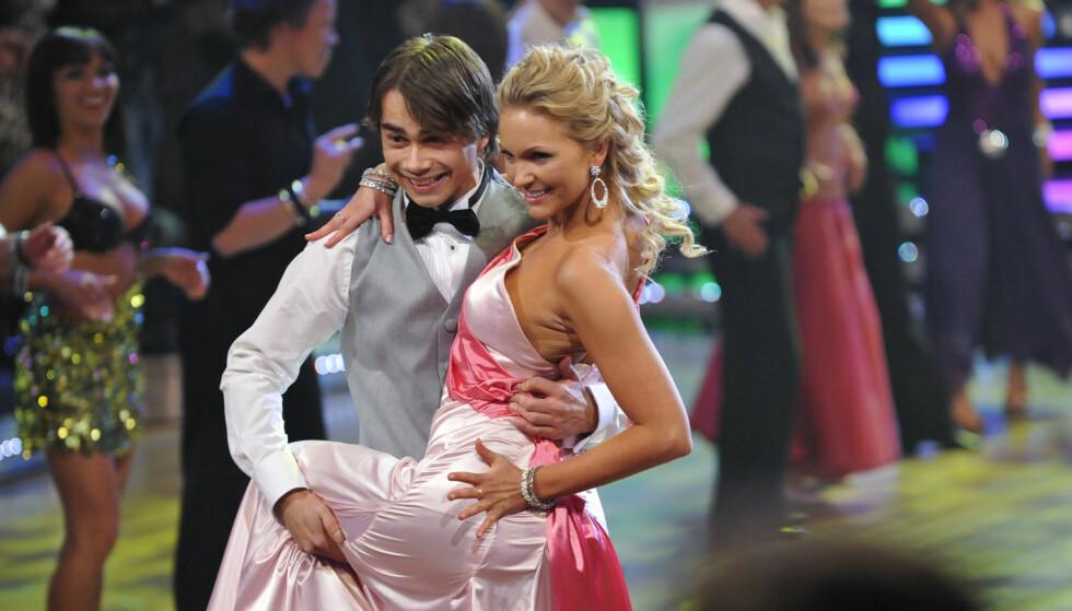 LUNKEN VELKOMST: Flere svensker satte spørsmålstegn ved hvorfor Alexander Rybak fikk delta i deres versjon av «Skal vi danse», «Let's Dance». Foto: NTB Scanpix