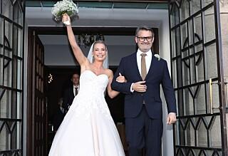 Nå er de gift