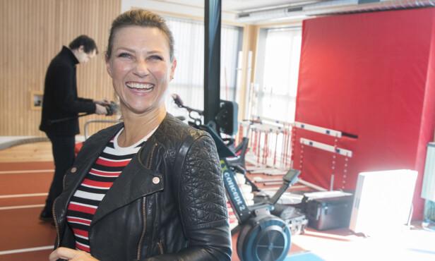 <strong>ENGASJERT:</strong> En smilende prinsesse Märtha Louise var til stede på Olympiatoppen tidligere denne måneden for å presentere stiftelsen «VI». Stiftelsen skal fremme paraidretten i Norge og jobbe for funksjonshemmedes rettigheter og muligheter. Foto: Vidar Ruud / NTB Scanpix