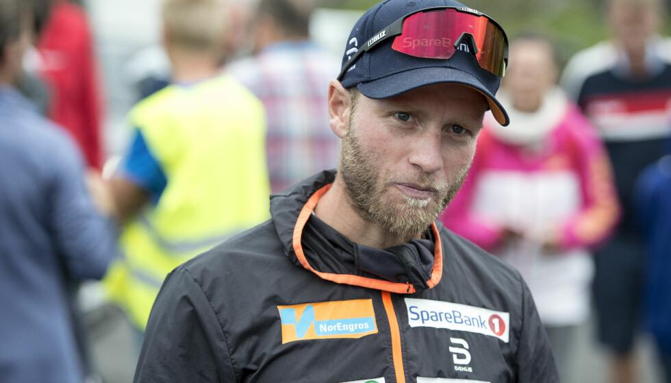 STÅR OVER SAMLING: Martin Johnsrud Sundby blir ikke med landslaget til Molde etter farens ulykke. Foto: Carina Johansen / NTB Scanpix