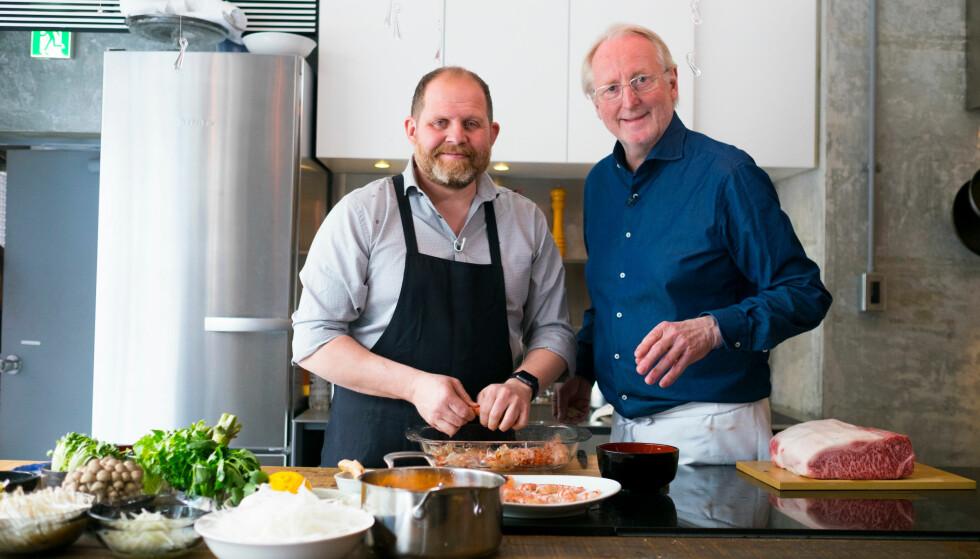 <strong>DYR KOST:</strong> Da Eyvind Hellstrøm og Truls Svendsen gjestet «P3morgen» onsdag avslørte de begge sine svimlende utgifter til mat. Foto: NTB Scanpix
