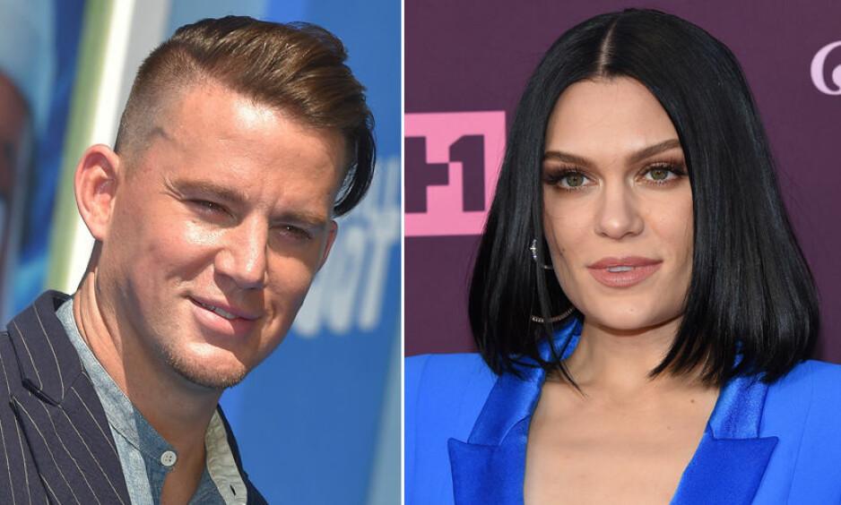 NYE FLAMMER: Ifølge flere kilder skal skuespiller Channing Tatum og sangstjerne Jessie J ha funnet tonen, seks måneder etter skilsmissen mellom Channing og Jenna Dewan. Foto: NTB Scanpix