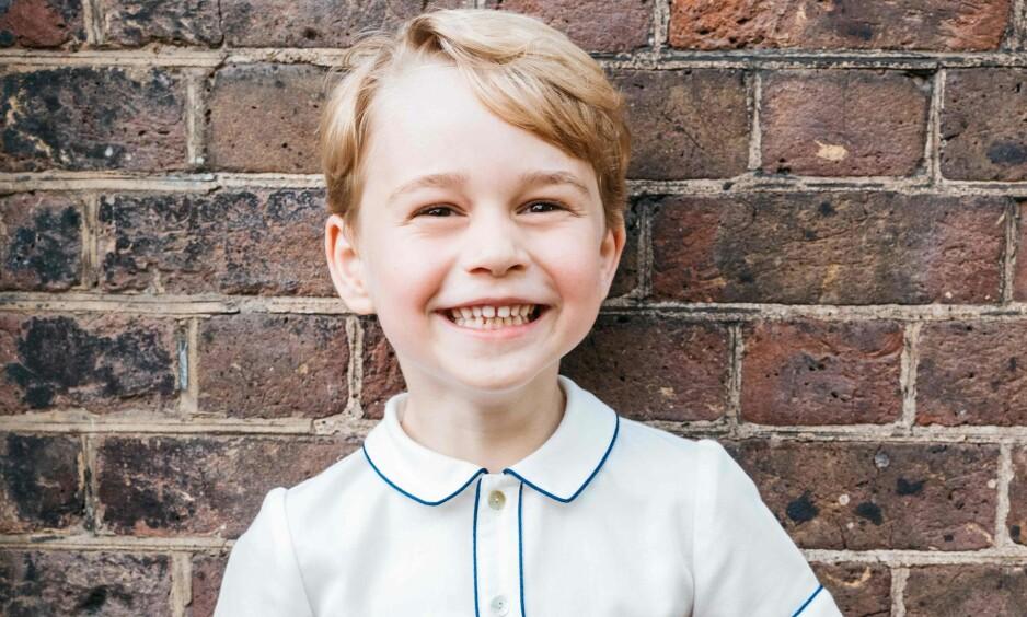 <strong>SJARMØR:</strong> Sønnen til hertuginne Kate og prins William storkoser seg på skolen med lunsjer fra alle verdens hjørner. Foto: NTB Scanpix