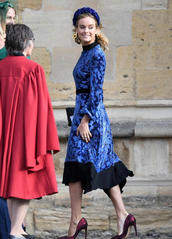 HARRYS EKS: Også prins Harrys tidligere kjæreste Cressida Bonas var blant de inviterte. Foto: NTB scanpix
