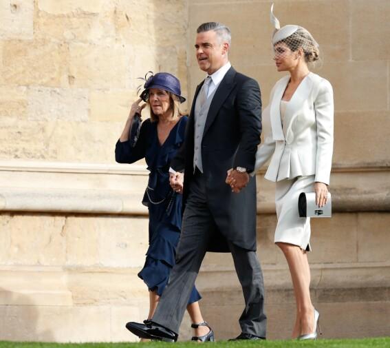 SPESIELL ROLLE: Datteren til Robbie Williams og Ayda Field, Theodora, er blant brudepikene i bryllupet. Foto: NTB scanpix