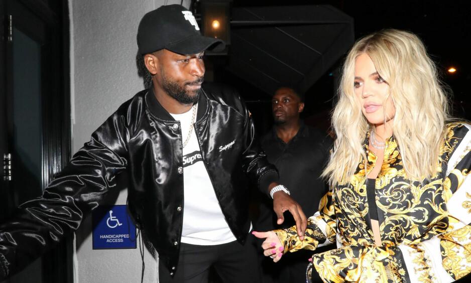 IKKE FORNØYD: Khloé Kardashian har kommet med det som virker som flere stikk mot Jordyn Woods og Tristan Thompson. Foto: NTB scanpix