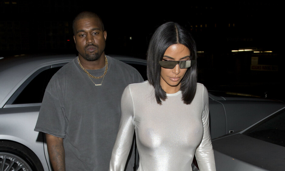 VANSKELIGE TIDER: Ifølge flere kilder skal ekteskapet mellom Kim Kardashian West og Kanye West synge på siste vers. Foto: NTB Scanpix