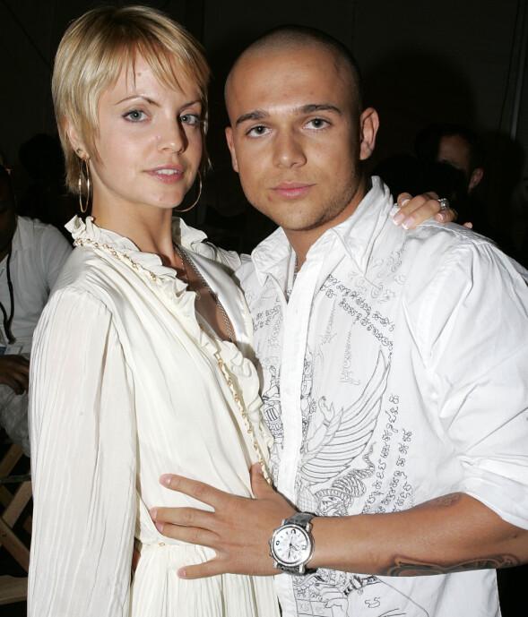 <strong>EKTEMANN NUMMER TO:</strong> Mena Suvari giftet seg med Simone Sestito i Roma i 2010. Før utgangen av 2012 var ekteskapet over. Her er paret avbildet i 2008. Foto: AP/ NTB scanpix