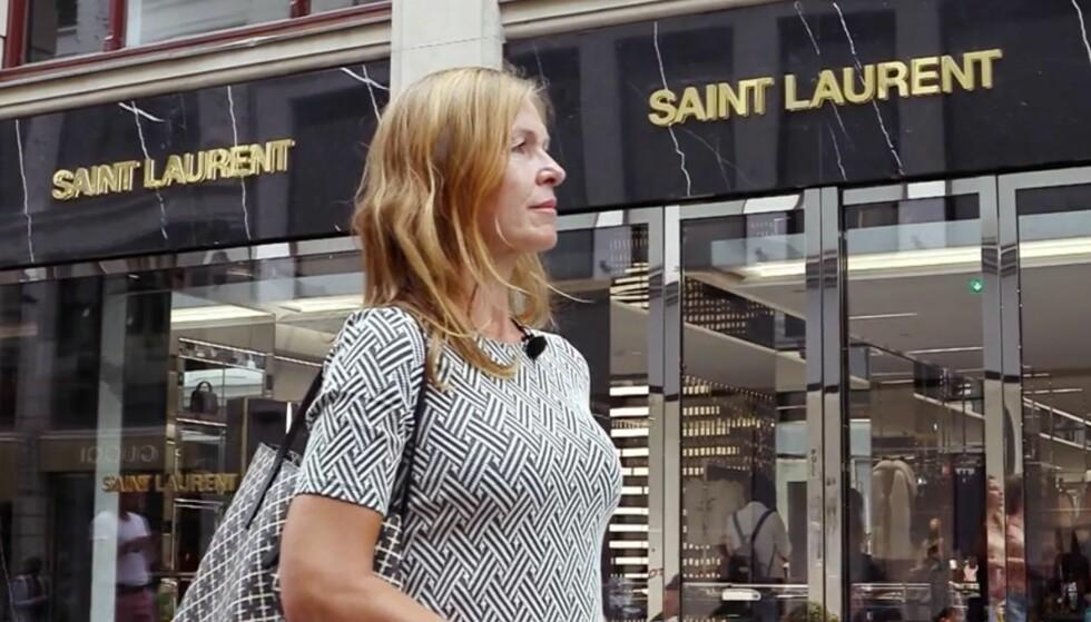 <strong>LUKSUSVARER:</strong> Anja Meyer forteller at hun har sløst mye penger på både designervesker, klær og sko. Foto: TV3