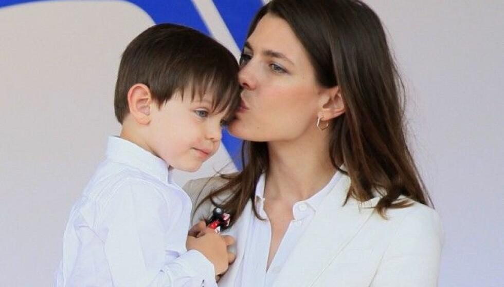 TOBARNSMAMMA: Charlotte har sønnen Räphael fra et tidligere forhold, og har nå fått sitt andre barn. Foto: NTB scanpix