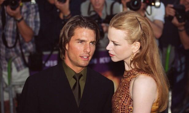 DEN GANG DA: Tom Cruise og Nicole Kidman var sammen fra 1990 til 2001. Nå blir angivelig ikke Kidman invitert i sønnen deres, Connor, sitt bryllup. Foto: NTB Scanpix