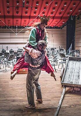 MUSIKALARTIST: Anette er både danser og musikalartist på fulltid. Foto: Antero Hein