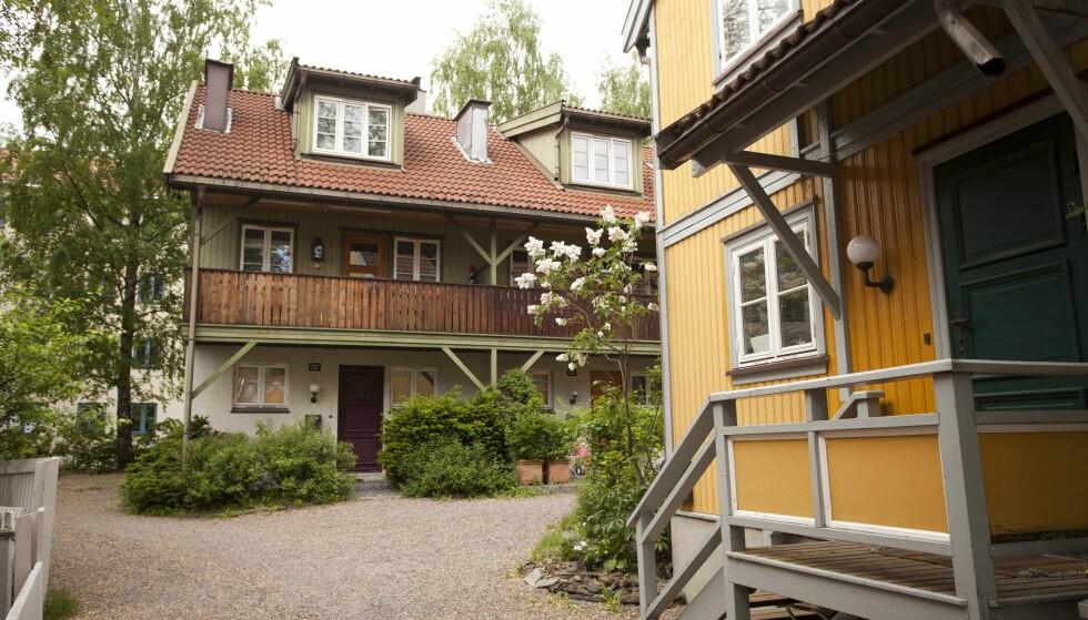 FLYTTET UT: Rekkehusleiligheten på Sagene i Oslo ble nylig solgt med en fortjeneste på nesten fem millioner kroner. Foto: Oddvar Walle Jensen