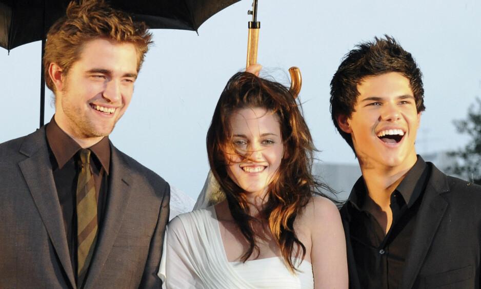 FORSVANT: Mens Robert Pattinson og Kristen Stewart begge har gjort store karrierer etter «Twilight», er Taylor Lautner som sunket i jorda. Det har sine grunner. Foto: NTB scanpix