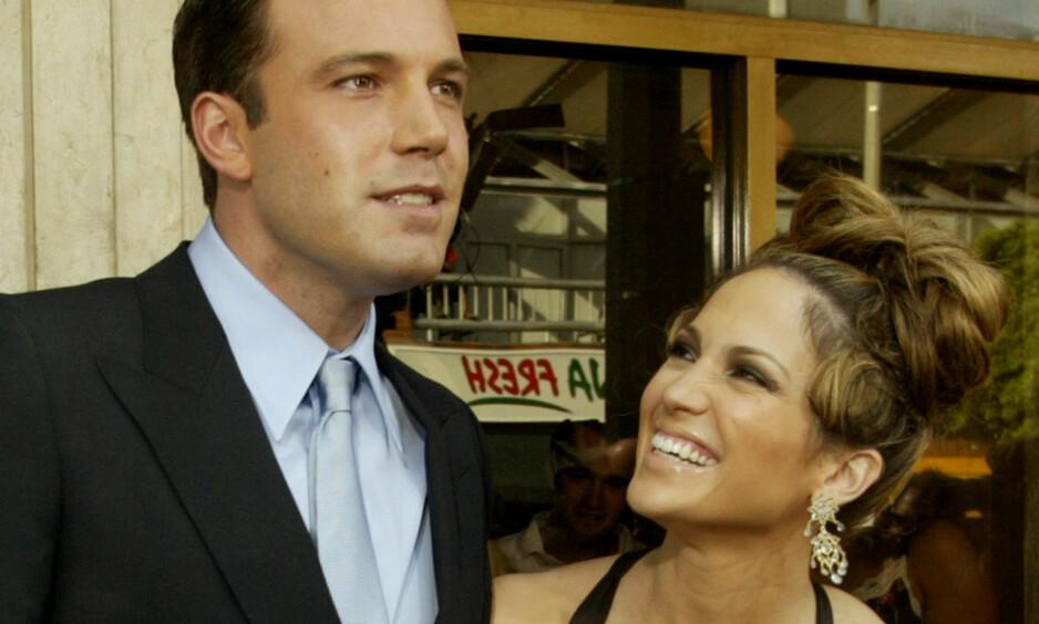 <strong>BRUDD:</strong> I et nytt intervju letter Jennifer Lopez på sløret om forholdet til Ben Affleck. Stjernene var på alles lepper da de var et par, noe som langt ifra var lett. Foto: NTB Scanpix