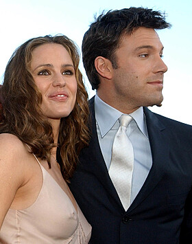 <strong>GIFT:</strong> Ben Affleck var gift med Jennifer Garner fra 2005 til 2017. De fikk barna, Violet, Seraphina og Samuel sammen. Foto: NTB Scanpix