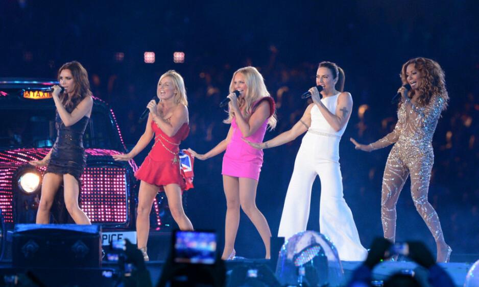 GJENFORENES: Spice Girls skal ut på turné - men uten Victoria Beckham. Foto: NTB Scanpix