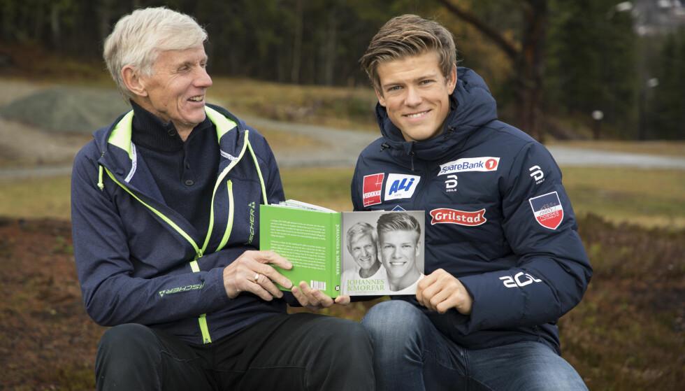 RADARPAR: Johannes Høsflot Klæbo har gitt ut bok sammen med morfar og trener Kåre Høsflot. Foto: Morten Eik / Se og Hør