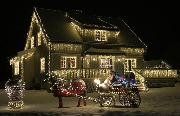 HELHET: Før du går til innkjøp av årets julebelysning, bør du lage en plan over hva du vil lyssette.