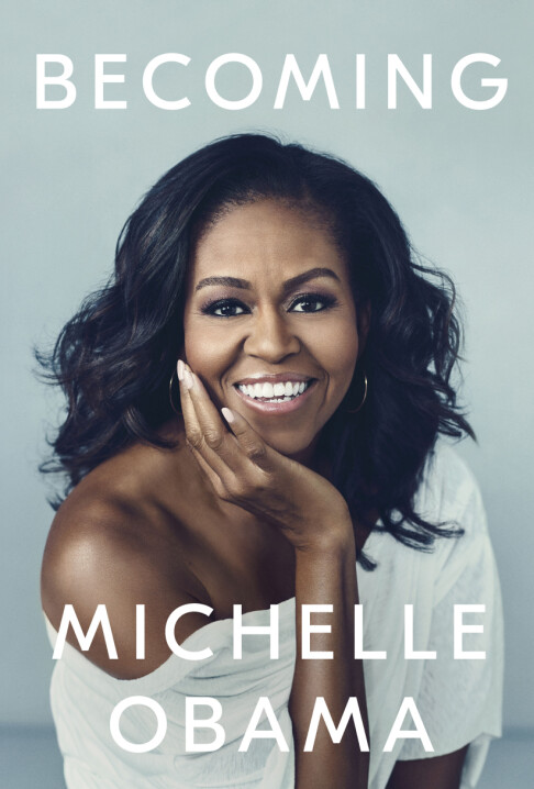 <strong>BOKATUELL:</strong> Neste uke slippes Michelle Obamas bok «Becoming». Foto: Crown via AP/ NTB scanpix