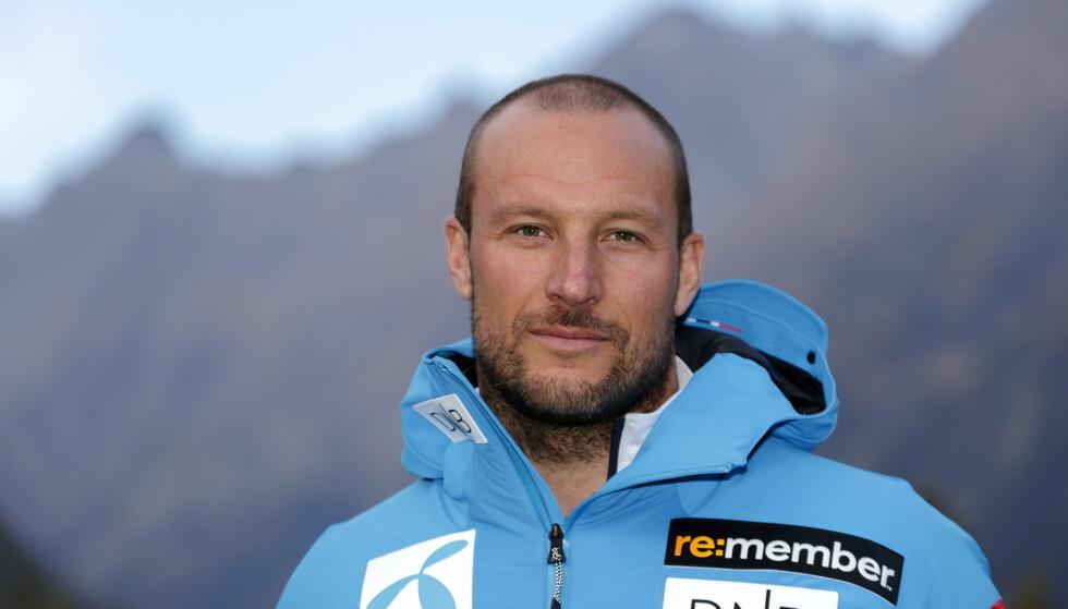ÅPEN OM FREMTIDSØNSKER: Alpinist Aksel Lund Svindal legger ikke skjul på at han ønsker å bli en familiemann i fremtiden. Foto: Cornelius Poppe / NTB Scanpix