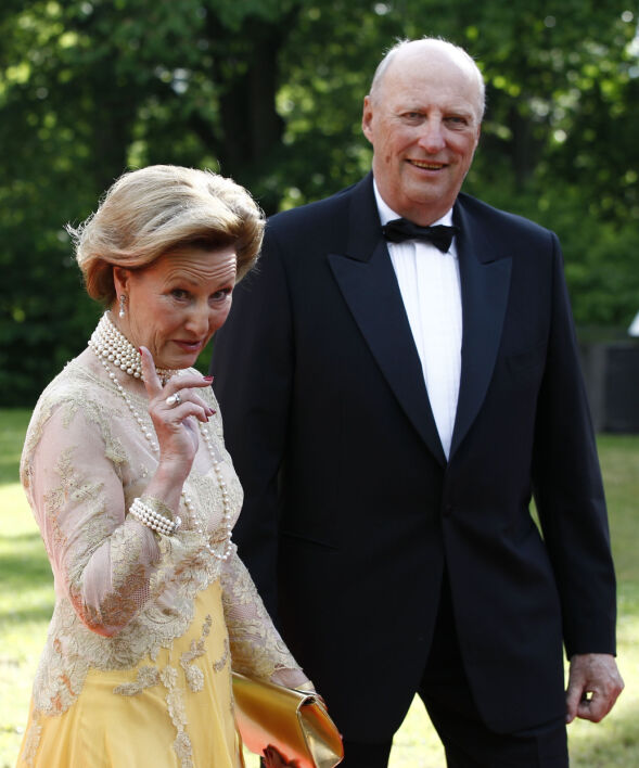 28 MÅNEDER: Prinsesse Märtha Louise ble født 22. september 1971, 1119 dager etter bryllupet til dronning Sonja og kong Harald. Foto: NTB scanpix