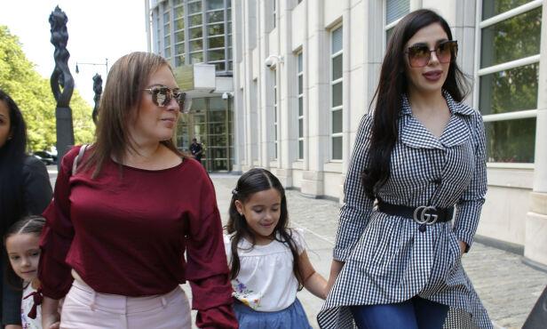 TVILLINGER: Narkobaronens tvillingdøtre ble født i USA, og ble dermed sikret amerikanske statsborgerskap. Foto: NTB Scanpix