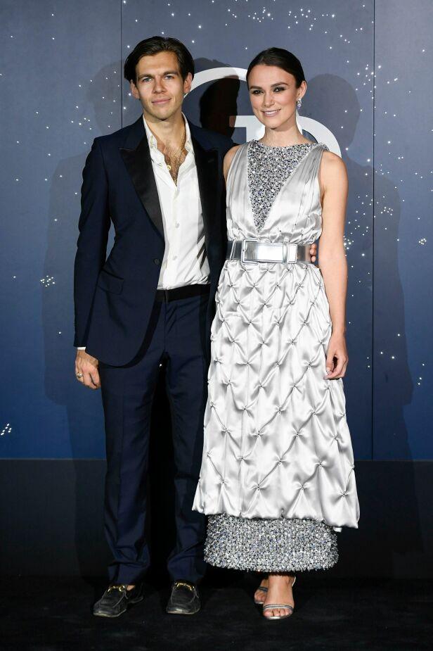 GIFT: Keira Knightley og James Righton har vært ga hverandre sitt ja for fem år siden. Foto: NTB Scanpix