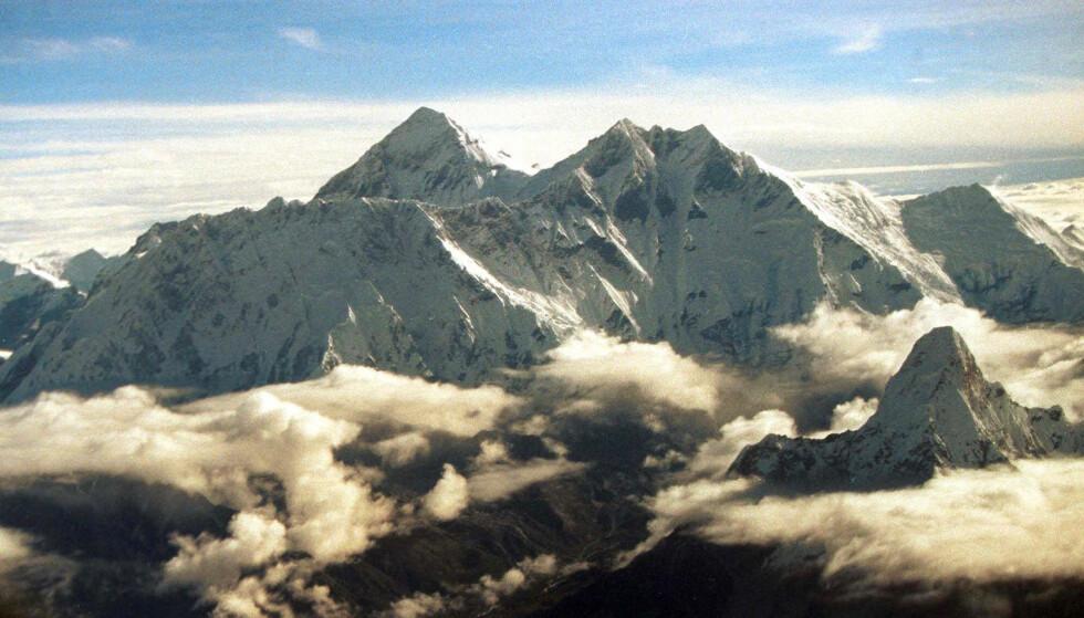 <strong>FORSVANT HER:</strong> Broren til Pippas ektemann James Matthews, Michael Matthews, mistet livet etter å ha besteget Mount Everest våren 1999. Foto: AP/ NTB scanpix