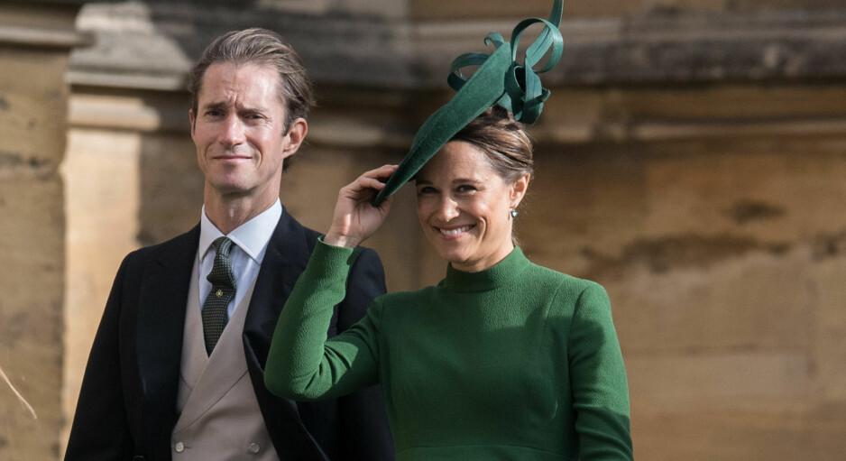 <strong>RØRENDE HYLLEST:</strong> Navnet på sønnen til Pippa Middleton og James Matthews er blitt offentliggjort, og bak navnevalget skal det ligge en tragisk historie. Foto: NTB scanpix