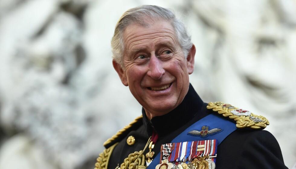 GRATULERER MED DAGEN!: I dag, 14. november 2018, fyller britenes prins Charles 70 år. Her fra 2015. Foto: NTB Scanpix