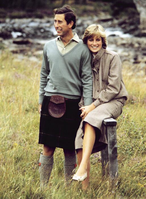 FORELSKET?: Da Charles og Diana ble spurt om de var forelsket i forlovelsesintervjuet, svarte hun bekreftende, mens han sa noe mer kryptisk «hva nå enn forelsket betyr»... Foto: PA/ All Over Press
