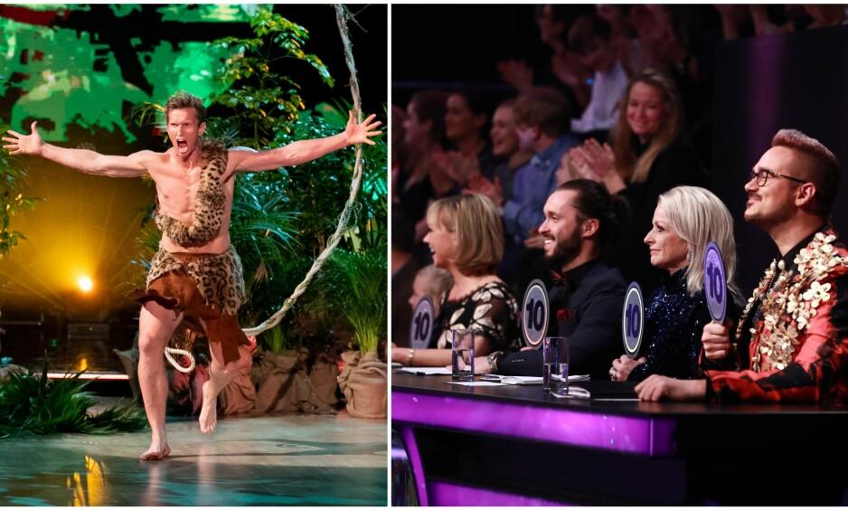 TRUER MED «COMEBACK»: «Skal vi danse»-dommerne er klar i sin mening om hva de synes om Frank Løkes plan om å trosse TV 2s avgjørelse om «Skal vi danse»-finalen. Foto: NTB Scanpix