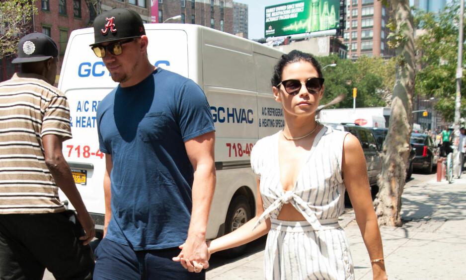 GODT FORHOLD: Selv etter bruddet skal Channing Tatum og Jenna Dewan ha et godt forhold. Nå støtter også sistnevnte eksens nye flamme. Foto: NTB Scanpix