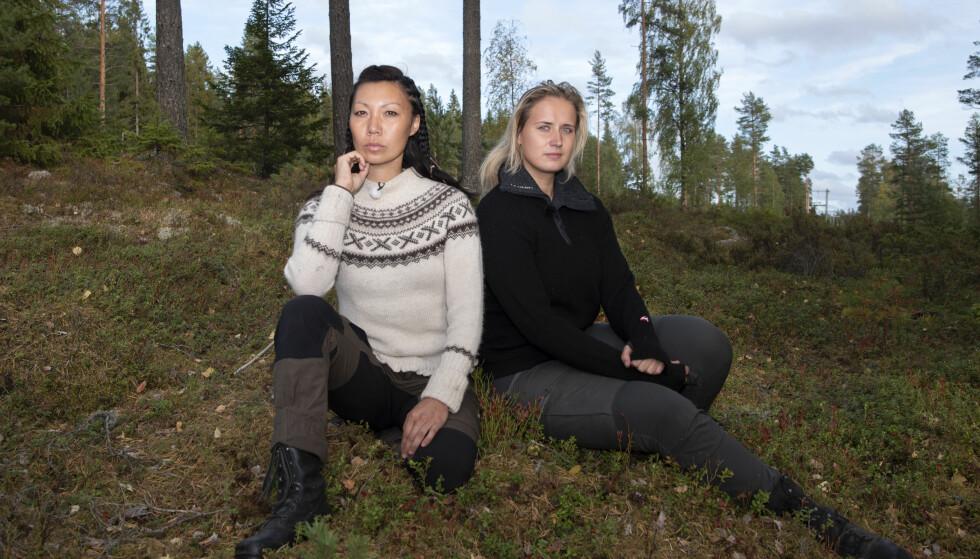 <strong>BLE UVENNER:</strong> Irene og Karianne sa ikke hadet til hverandre etter tvekampen. Duoen har skværet opp i etterkant. Foto: Kristin Skaalerud / TV 2