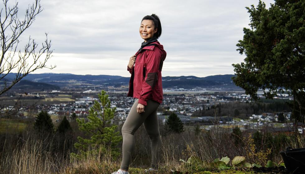 <strong>TILBAKE I HVERDAGEN:</strong> Irene Halle (35) er hjemme i Stjørdal igjen etter «Farmen»-oppholdet. Foto: Ole Martin Wold