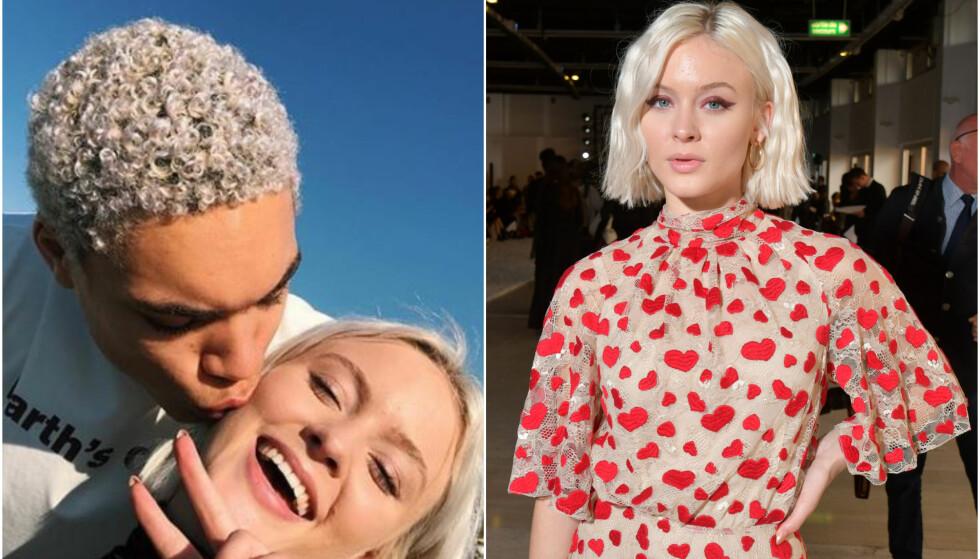 Zara Larsson og kjæresten: - - Det var ingen kjemi mellom oss