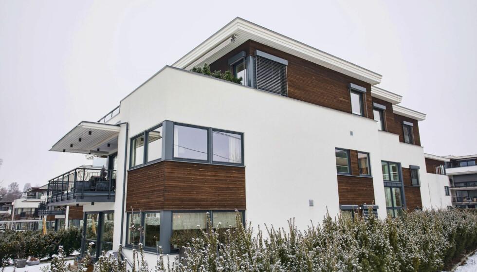 <strong>NY BOLIG:</strong> Den nye leiligheten til samboerparet er på 104 kvm og kostet i overkant av åtte millioner kroner. Foto: Tor Lindseth/ Se og Hør