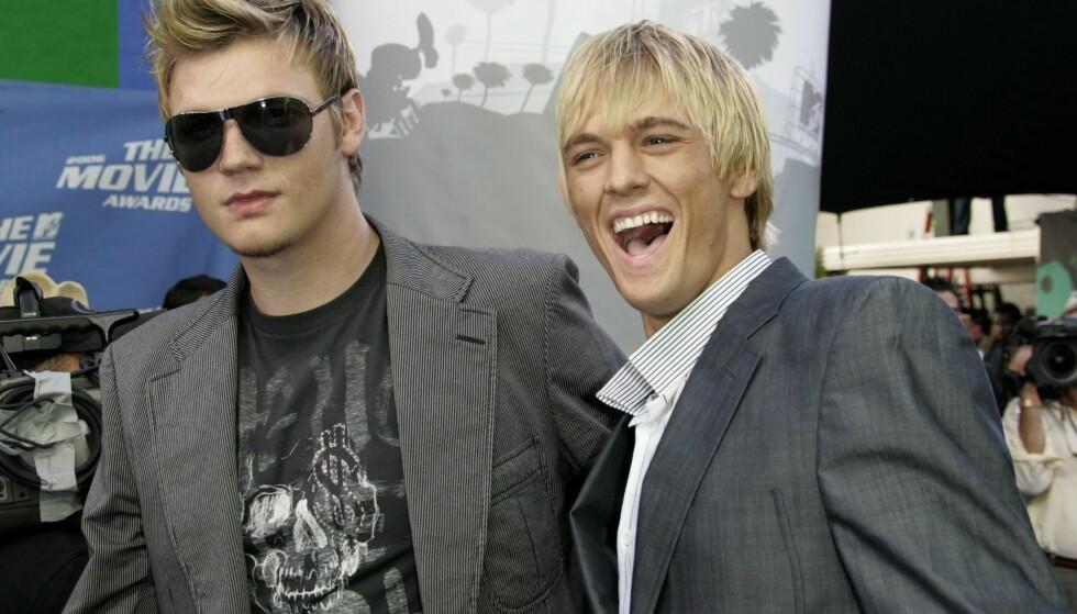 BERØMT FAMILIE: Aaron er lillebroren til «Backstreet Boys»-stjernen Nick Carter. Foto: NTB Scanpix