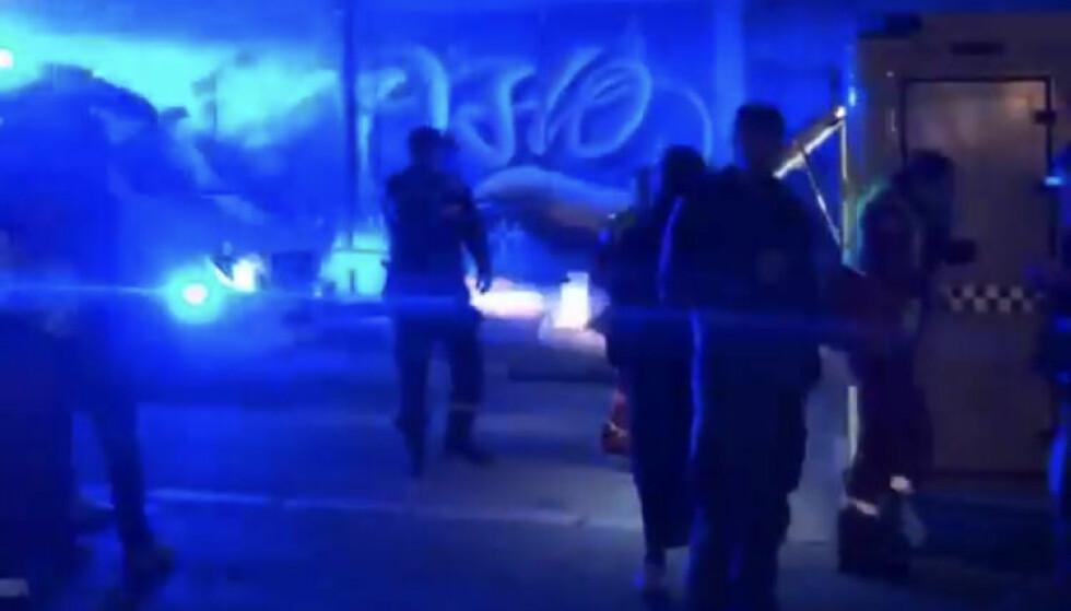 VITNE: Et vitne til Dagbladet fortalte at situasjonen ble kaotisk da knivstikkingen skjedde. Foto: Privat