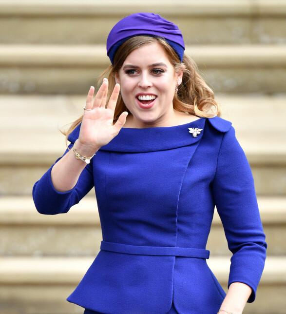 LILLA: Prinsesse Beatrice brukte hele 590 000 kroner på nye klær i fjor. Foto: NTB Scanpix