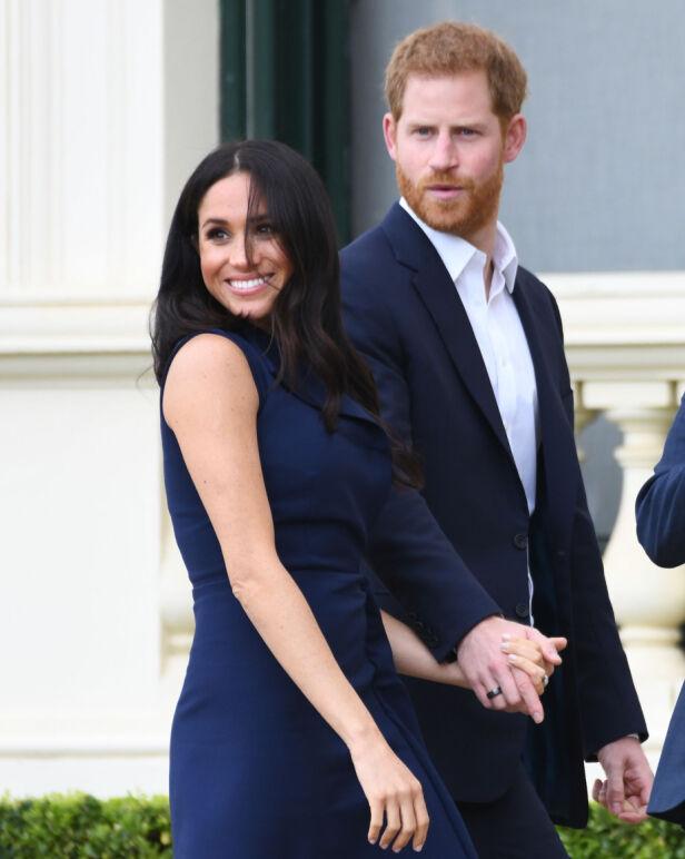 DOBBELT STATSBORGERSKAP: Meghan og Harry venter sitt første barn sammen. Førstnevntes statsborgerskap kan gi fordeler til barna deres, men skaper nå problemer for kongefamilien. Foto: NTB Scanpix