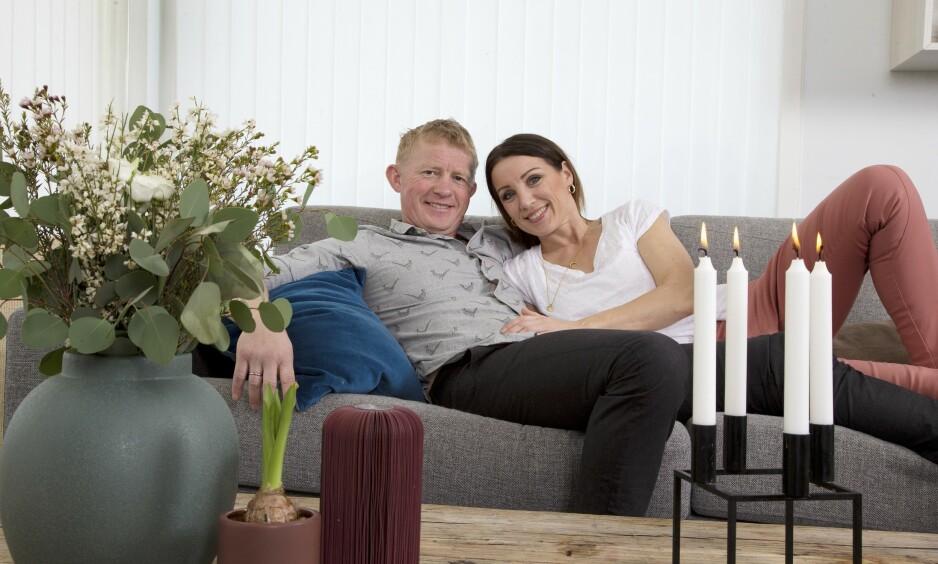 STORTRIVES: Pål Anders Ullevålseter og kona Mette Solli koser seg til hverdags sammen med familien i leiligheten i Nydalen. Foto: Tor Kvello/ Se og Hør