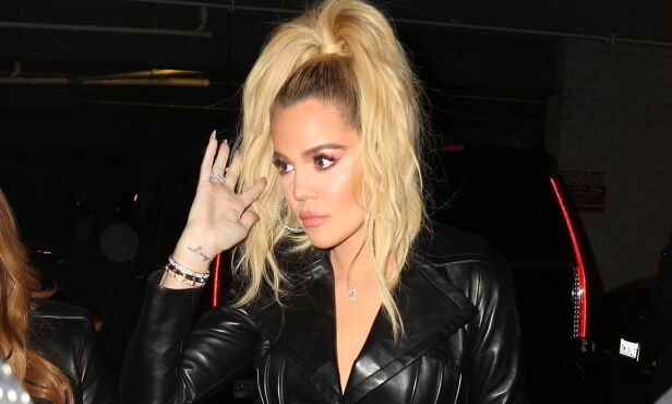 INNGREP?: Ifølge amerikanske medier skal Khloé Kardashian ha lagt seg under kniven. Dette bildet er tatt i november i fjor i Hollywood. Foto: NTB Scanpix