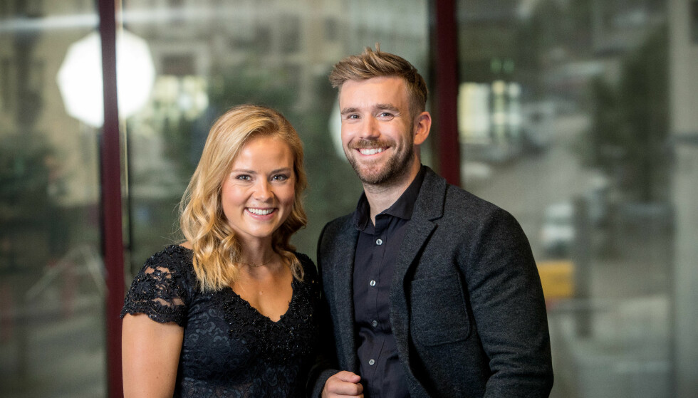 POPULÆR DUO: Helene Olafsen og Stian Blipp leder sin første «Senkveld»-sesong sammen i høst. Foto: TV 2