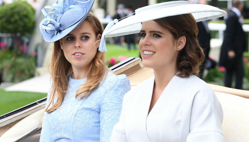 <strong>- VÆR DERE SELV:</strong> Sarah Ferguson håper døtrene, prinsesse Beatrice og prinsesse Eugenie, lærer av hennes feil. Foto: NTB Scanpix