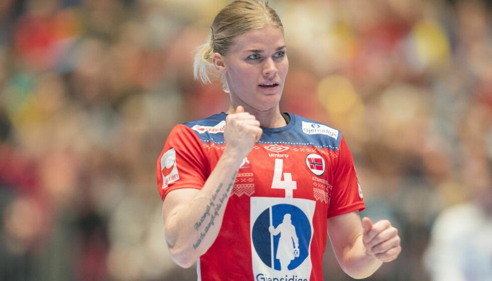 KLAR FOR MESTERSKAP: Veronica Kristiansen har over mange år betydd mye for Norges håndballprestasjoner. Nå er hun klar for EM. Foto: NTB Scanpix