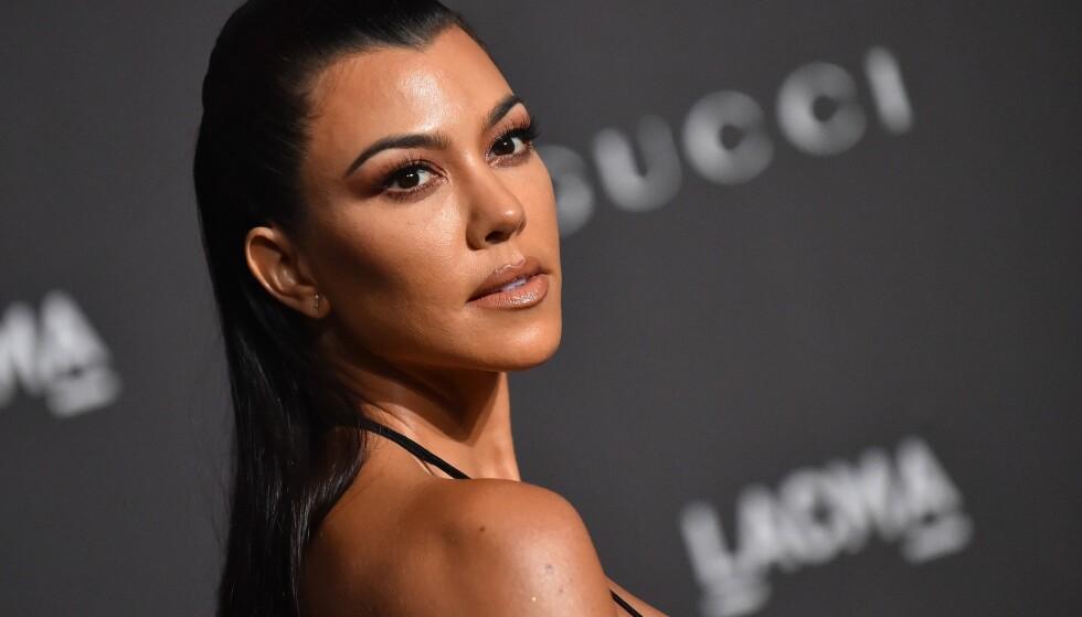 KJÆRLIGHET I LUFTEN?: Nå går ryktene om at Kourtney Kardashian (39) skal ha funnet en ny flamme. Foto: NTB Scanpix